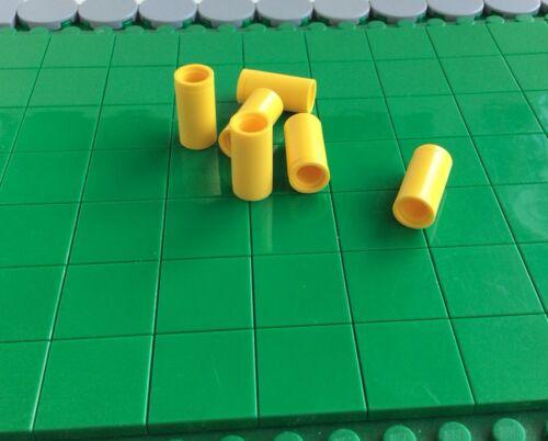 Technik Verbinder rund gelb b7 # 75535 Lego 6 Stück