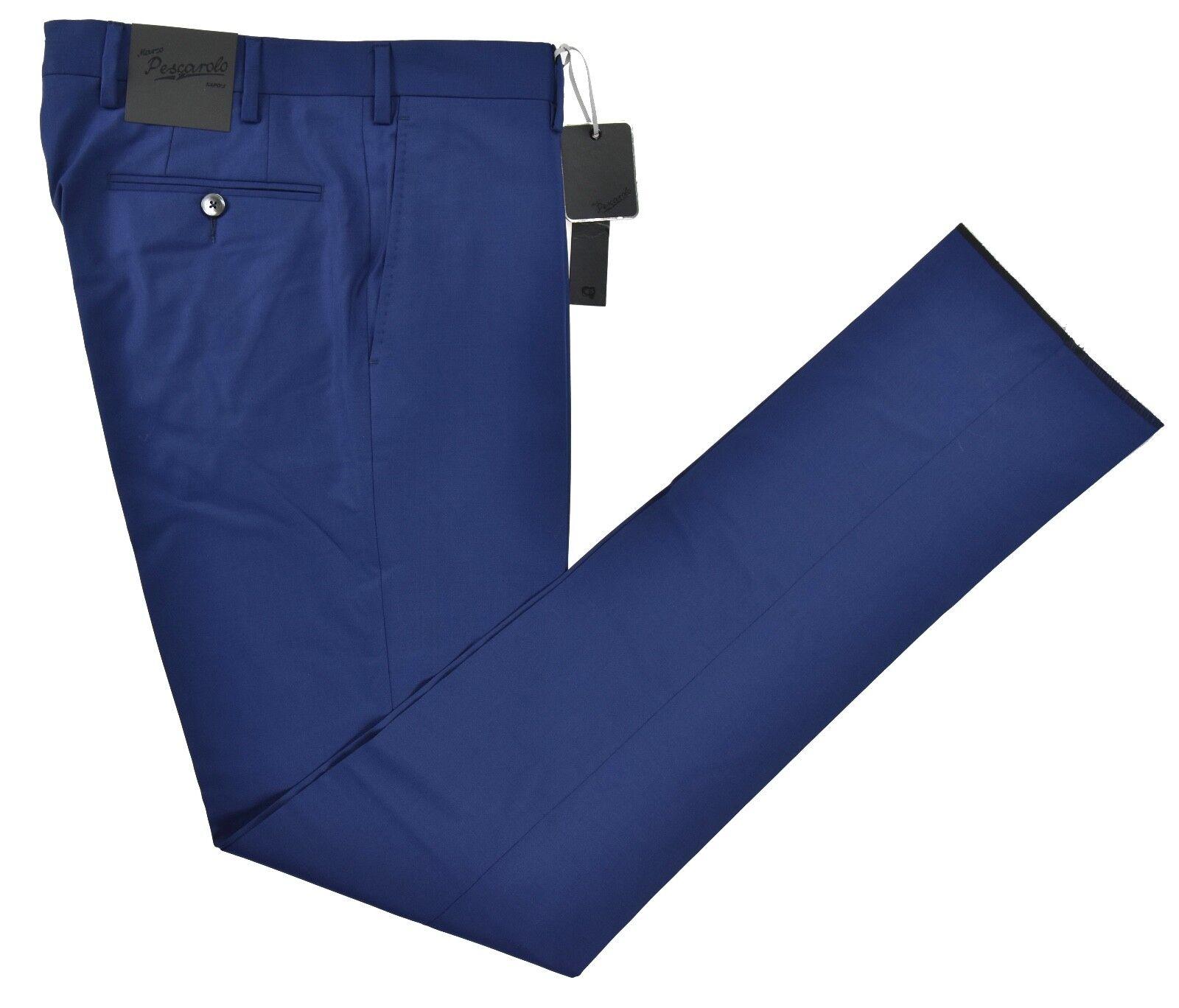 NEW 2018 MARCO PESCAROLO DRESS PANT 100% WOOL 120'S  SZ 33 US 49 PES8