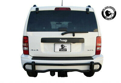 APU 2007-2012 Dodge Nitro Stainless Rear Bumper Guard Protector Double Tube