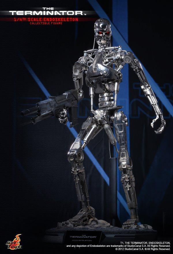 Hot Toys 1 4 Terminator T-800 Endoskeleton T 800 QS002