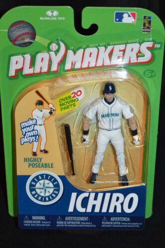 McFarlane Playmakers Poseable Figure Ichiro Batting NIP