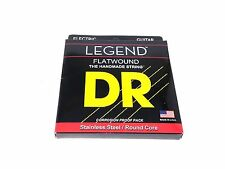 DR Guitar Strings Electric Legend Flat Wound Stainless Steel 11-48