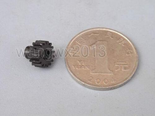 5PCS Plastic Gear 16 Teeth 0.5 Module Motor Shaft Gear Aperture 2mm Tight Fit