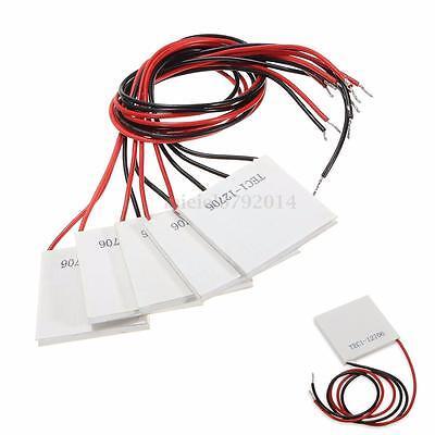 1-10 x TEC1-12706 Heatsink Thermoelectric Cooler Peltier Plate Module 12V 6A 72W