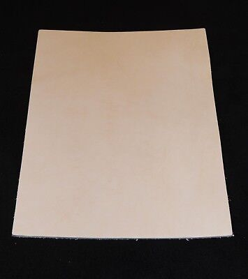 """Veg Tan Cowhide Tooling Leather for Sheath Armor Holster Wallet 6/"""" x 24/"""" 8-9 oz"""