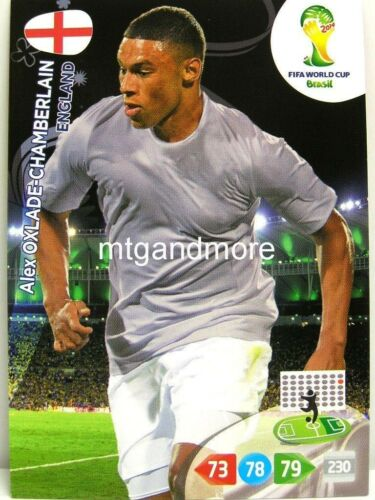 Adrenalyn XL-alex oxlade-chamberlain-inglaterra-FIFA World Cup Brazil 2014 WM