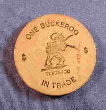 Wooden Nickel - Universal Trading Den - Texas TX