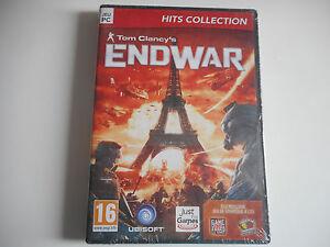 JEU-PC-DVD-ROM-ENDWAR-TOM-CLANCY-039-S-NEUF
