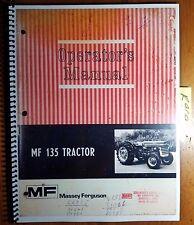 massey ferguson tractor 135 operators manual mf135 ebay rh ebay com mf 135 operators manual pdf mf 135 operators manual pdf