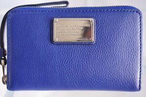 New-Marc-by-Marc-Jacobs-Classic-Q-Wingman-Wallet-Wristlet-Blue