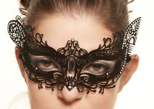 Charming Laser cut Venetian Masquerade Mask with Rhinestones