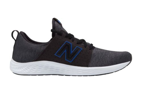 New Balance Mens Fresh Foam Sport Trainers Dark Grey Black Blue Sports Shoes