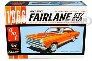SKILL-2-MODEL-KIT-1966-FORD-FAIRLANE-GT-HARDTOP-1-25-SCALE-BY-AMT-AMT1091-M