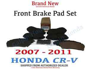Genuine OEM Honda CR-V Front Brake Pad Set 2007-2011 Brakes Pads CRV