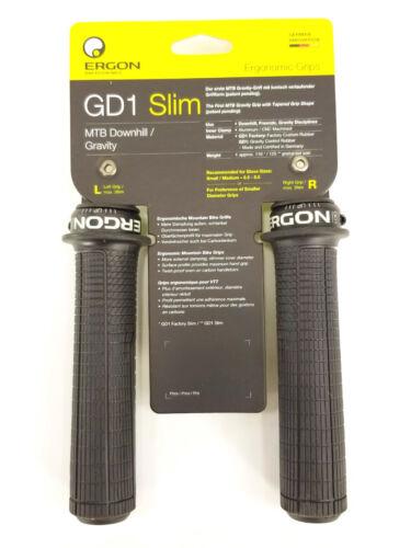 Ergon GD1 Slim Grips Small Black
