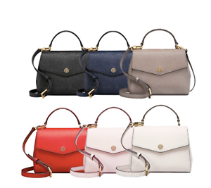 95a6e0557d9b Image is loading TORY-BURCH-ROBINSON-SMALL-TOP-HANDLE-SATCHEL-49686-