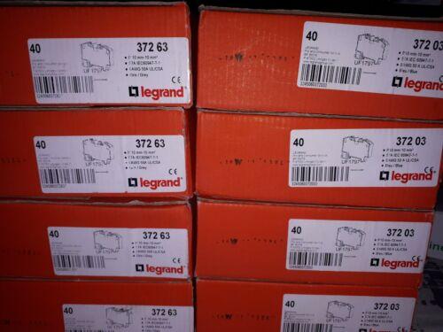 Legrand 372 03-40 Bornier BLEU Bloc de jonction Viking3 10mm² Pas de 10mm