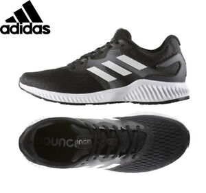 acb24546e67 Image is loading Mens-ADIDAS-AEROBOUNCE-RUNNING-SHOES-Black-Sneakers-BW0285-