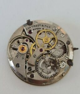 Tissot 27B-21 Manual Winding Movement For Parts Doesn't Work
