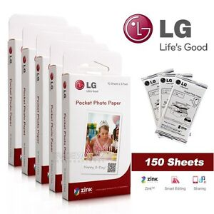ZINK Photo Paper for LG Pocket Photo Po Po Printer PD221 PD233 PD251 150 Sheets - <span itemprop='availableAtOrFrom'>Essex, United Kingdom</span> - Full refund can only be given if the item is still in its original condition. Otherwise restocking fees will be imposed. Under any circumstances buyer pays for return postage. Most purchase - Essex, United Kingdom