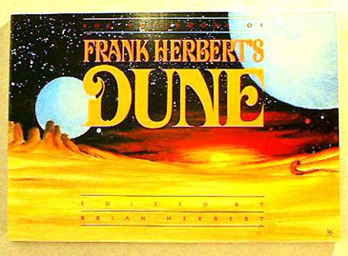 64 Pgs UNREAD Original 1988 Notebooks of Frank Herbert/'s DUNE Softcover Book