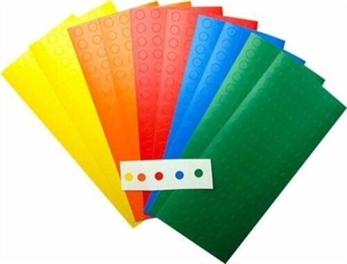 Circle Dot Stickers Labels on Sheets 1//4 Inch Round 30 Colors to Choose From