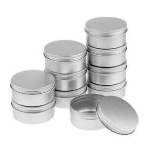 5-PCS-Cosmetic-Aluminium-Empty-Jar-Pot-Cream-Lip-Balm-Bottle-Box-Tin-Case-15ml
