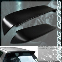 Real Carbon Fiber Spoon Style Rear Roof Spoiler Wing Fit 92-95 Honda Civic 3-dr