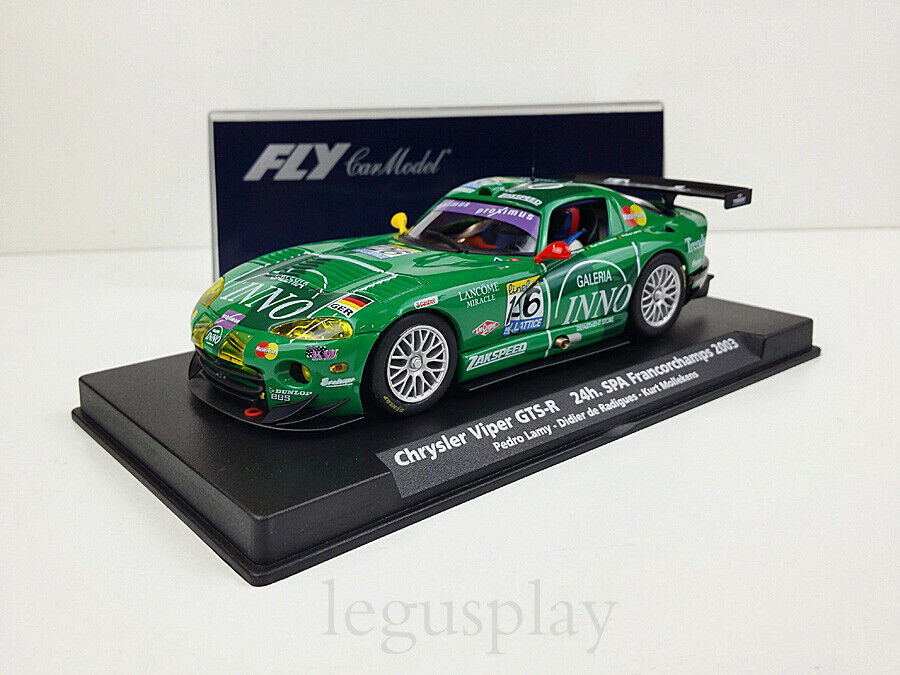 Slot Coche Scalextric Fly 88154 Chrysler Viper GTS-R 24h Spa Francorchamps 2003