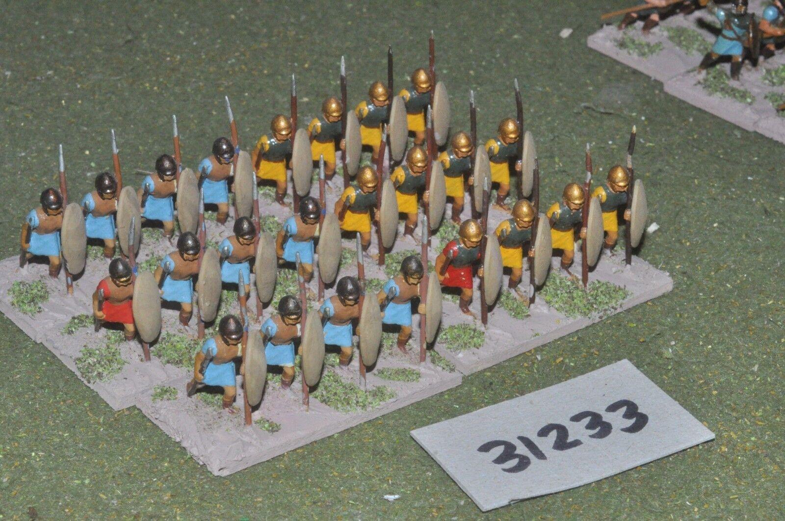 25mm griego clásico-javelinmen 24 figuras-INF (31233)