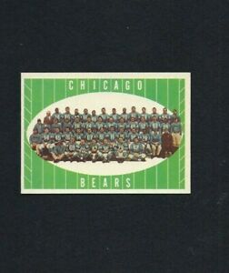 NMT-1961-Topps-18-Chicago-Bears-Team