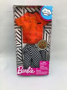 2018 Barbie Ken Doll Complete Look Fashion Pack Career Golfer Outfit