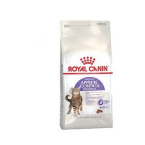 Nourriture Pour Chats Adultes Stérilisés Royal Canin Appétit Control