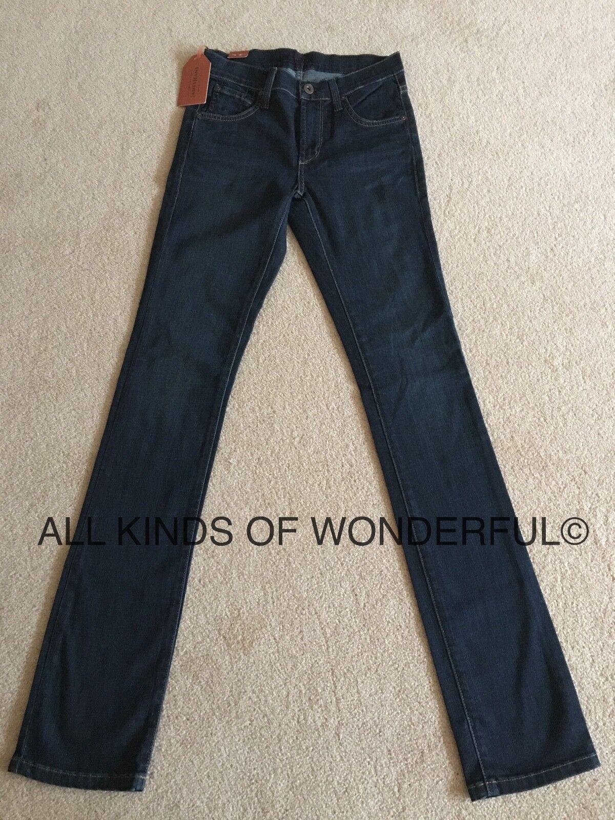 James High Rise Jeans Gamba Dritta in in in inverno blus (Dk blu) RRP  BNWT 53343a