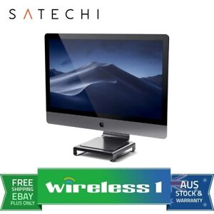 Satechi USB-C Aluminum Monitor Stand Hub for iMac - Space Grey
