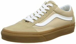 f4b78d96abbb Vans Authentic Old Skool Suede Beige Sesame Gum Black White Supreme ...