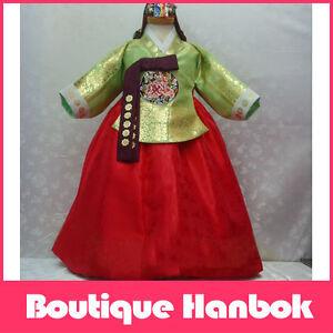 Details about Luxe Boutique Royal Princess Korean HANBOK DRESS 1-2T