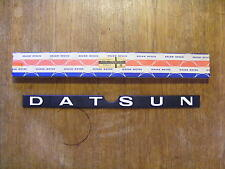 DATSUN NOS New Old Stock Badge Emblem Cherry Pulsar 310/310GX N10  84890-M6601