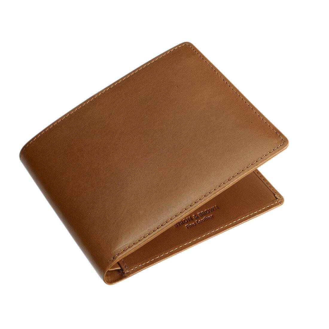 Byron & italien-cadeau Marron -gentleman 's 8 carte portefeuille-cuir italien-cadeau & Boxed-3 couleurs ca21a8