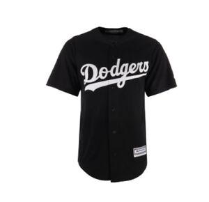 8e884651084 MLB Los Angeles Dodgers Cool Base Black White Baseball Jersey ...
