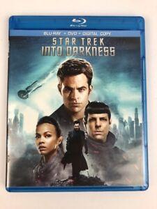 Star-Trek-Into-Darkness-Blu-ray-Disc-2013-2-Disc-Set-Fast-Free-1st-Class-Ship