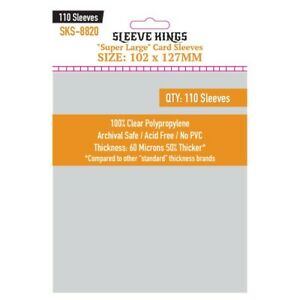 Sleeve-Kings-Super-Gross-Kartenhuellen-102mm-X-127mm-Pack-110