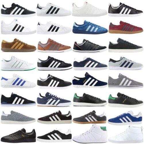 Adidas Sneaker shoes men Casual da Ginnastica Retro Tessuto pelle Sale Nuovo