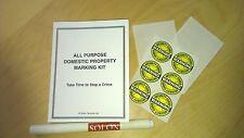 Tutti gli usi domestici proprietà marcatura Kit
