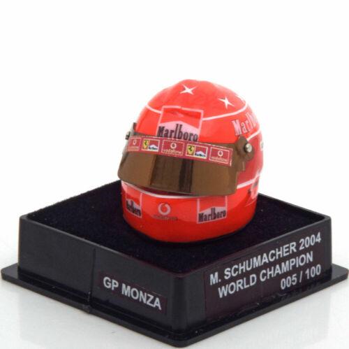 1:12 JF Creations Ferrari helmet World Champion Schumacher 2004