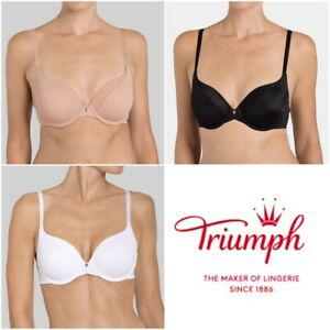 Triumph-verdadera-FORMA-SENSACIoN-WHP-10162775-Wired-Sujetador-Acolchado-RRP-38-00