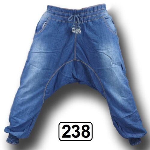 PUMPHOSE Boyfriend Haremshose Pluderhose Ballonhose Aladinhose Jeans Hose JP-720