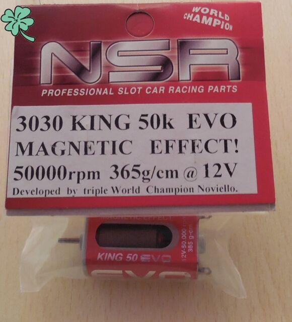 NSR3030 Magnetic Effect KING EVO Bal. 50k RPM 365 gcm Torque Long Can Motor