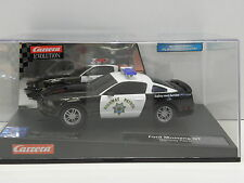 Carrera 27155 Evolution Slot Car Ford Mustang GT Highway Patrol M. 1:32