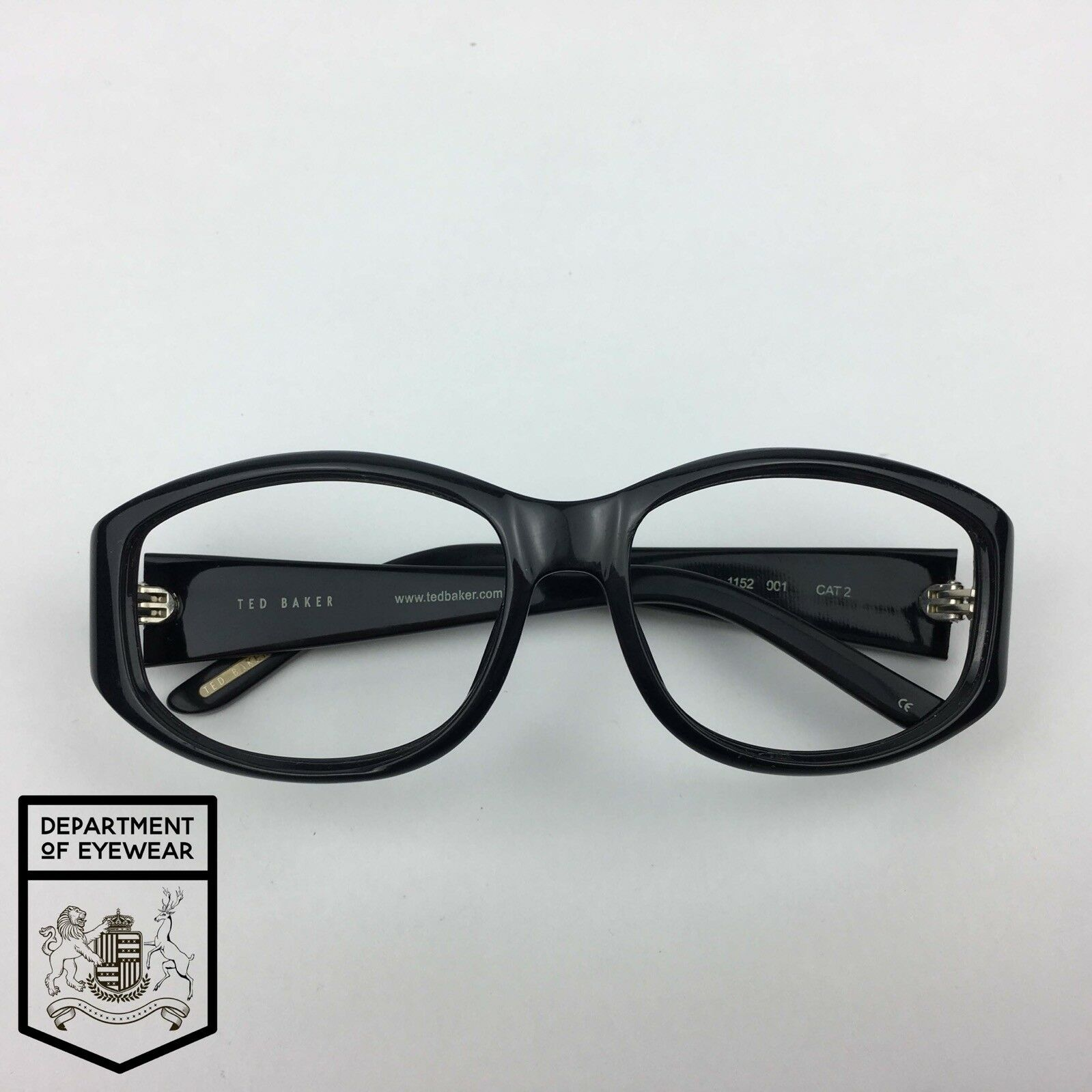 f53b84d2d6f7 Ted Baker Eyeglass Black Rectangle Frame Authentic. Mod Lydia 1152 for sale  online